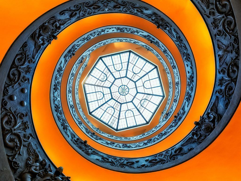 spiral-in.vatican-rome-italy
